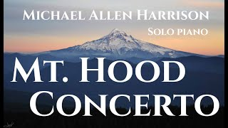Michael Allen Harrison Piano Solo - Mt Hood Concerto - 1st Movement