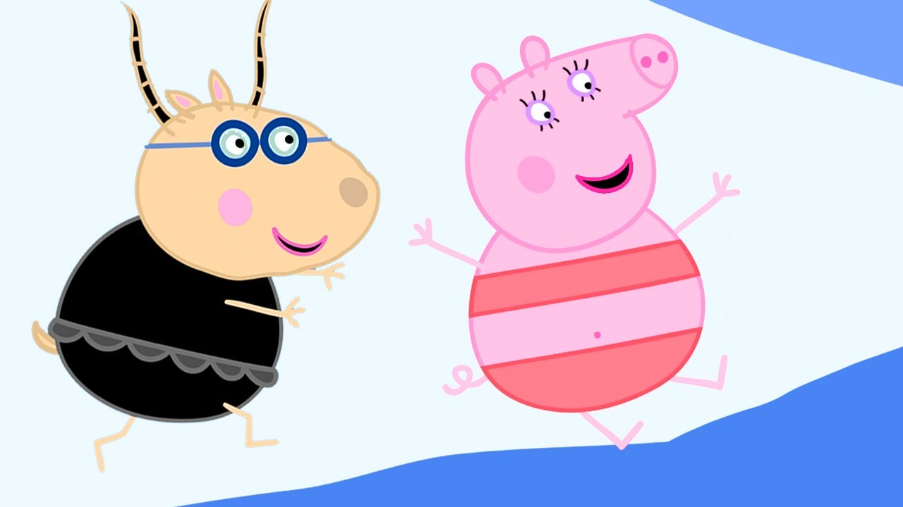 Peppa Pig Official Channel   Sun, Sea and Snow