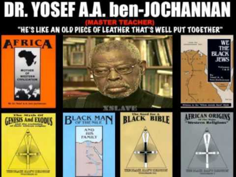 Dr. Yosef Ben-Jochannan: The Blackman of the Nile & His Family on the GBE - WLIB 9-18-91 [Pt1/2]