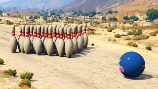 GTA V - Giant Bowling