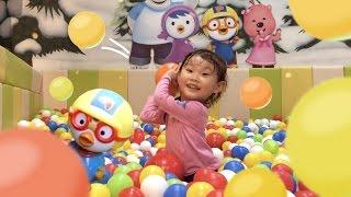 라임의 뽀로로 테마파크 놀이터 공 장난감 놀이 ❤︎ 숫자 세기123 Игрушки Toy 라임튜브