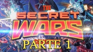 MARVEL SECRET WARS - la guerra secreta PARTE 1 - alejozaaap - vengadores - thor - spiderman
