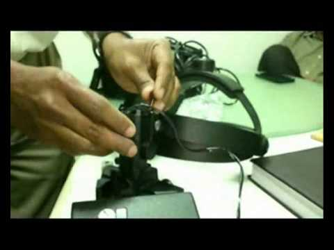 Converting Wired Halogen Indirect ophthalmoscope to Wireless LED IO