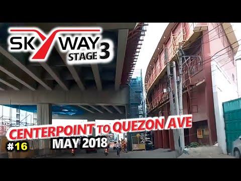METRO MANILA SKYWAY STAGE 3  Update 16 🚗 Aurora Blvd to Quezon Ave, Quezon City 🚗 City Tour