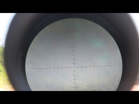 Sightron S3 6-24x50mm MOA-2 Reticle Overview