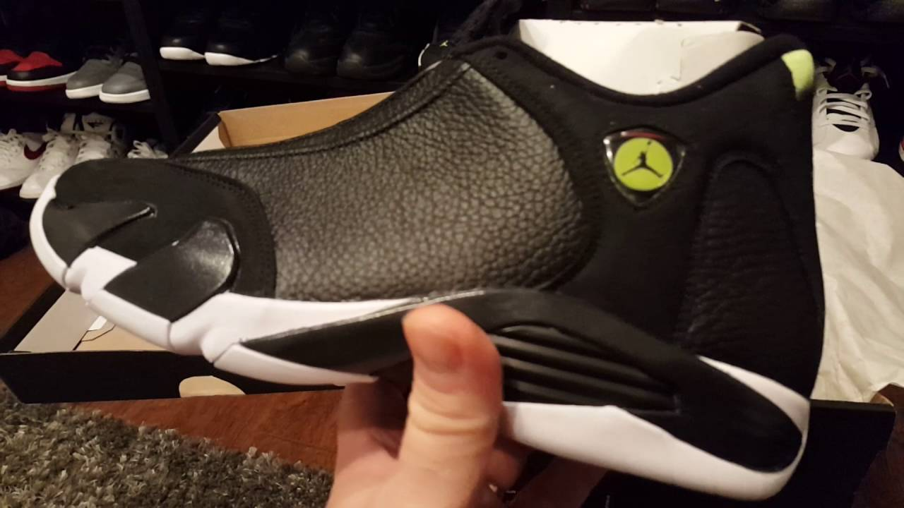 "pretty nice 3cad0 cfe4e Air Jordan 14 ""Indiglo"" Review"