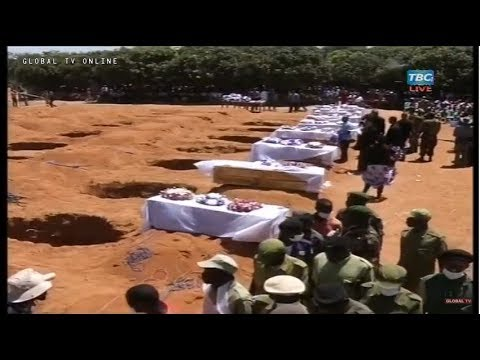 Download LIVE: Mazishi Ya Kitaifa Waliokufa Katika Ajali ya MV Nyerere