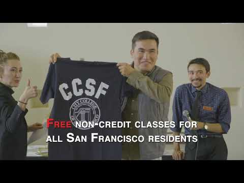 Welcome to City College of San Francisco 2018-2019