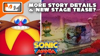 Sonic Mania - New Stage Teased, More Story Details, & Special Stage Music Revealed!