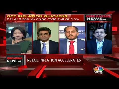 October Inflation Quickens | Reporter's Diary | CNBC TV18