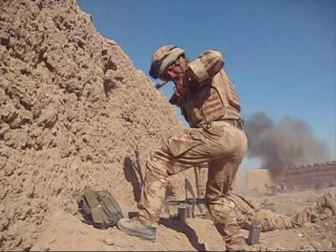 British Troops Fighting In Afghanistan.