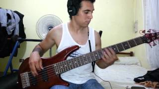 IRON MAIDEN - Fear Is The Key. Bass Cover by Samael.