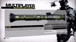 Battlefield: Bad Company 2: Beta Weapons & Gadgets