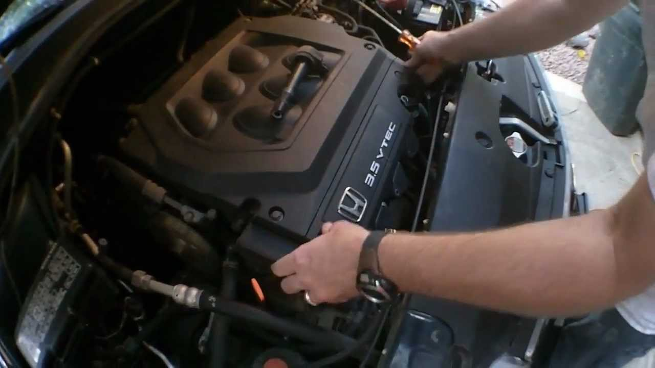 honda odyssey misfire quickly test and replace bad ignition coil youtube [ 1280 x 720 Pixel ]