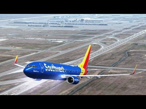 Denver INTL to Atlanta Hartsfield-Jackson INTL - Boeing 737-800 Southwest Airlines