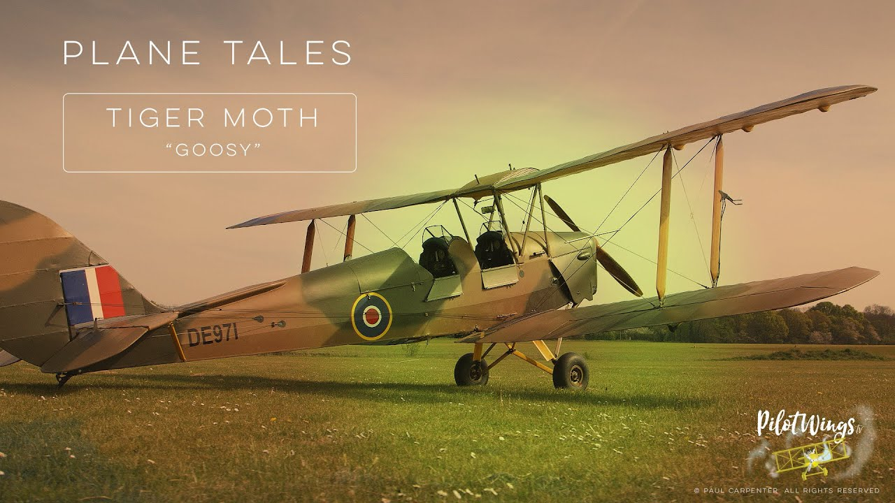 Plane Tales:  DH.82 Tiger Moth G-OOSY