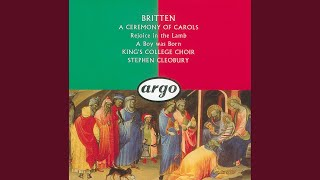 Britten: Ceremony of Carols, Op.28 - As Dew In Aprille