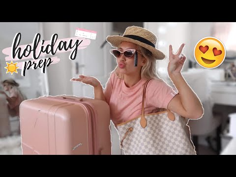 HOLIDAY PREP + PACK WITH ME! | Elle Darby