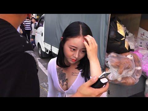[2] [추석연휴] 마지막날 '홍대미녀' 인터뷰!! - KoonTV