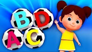 ABC футбол песня   узнать алфавиты   алфавиты для детей   Songs in English   ABC Soccer Song