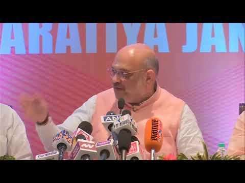 BJP National President Shri Amit Shah inaugurates media center in Varanasi : 23.04.2019