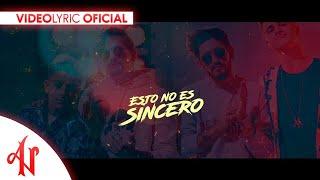 Letra Esto no es sincero - Adexe & Nau Ft. Mau y Ricky (Video Lyric Oficial)