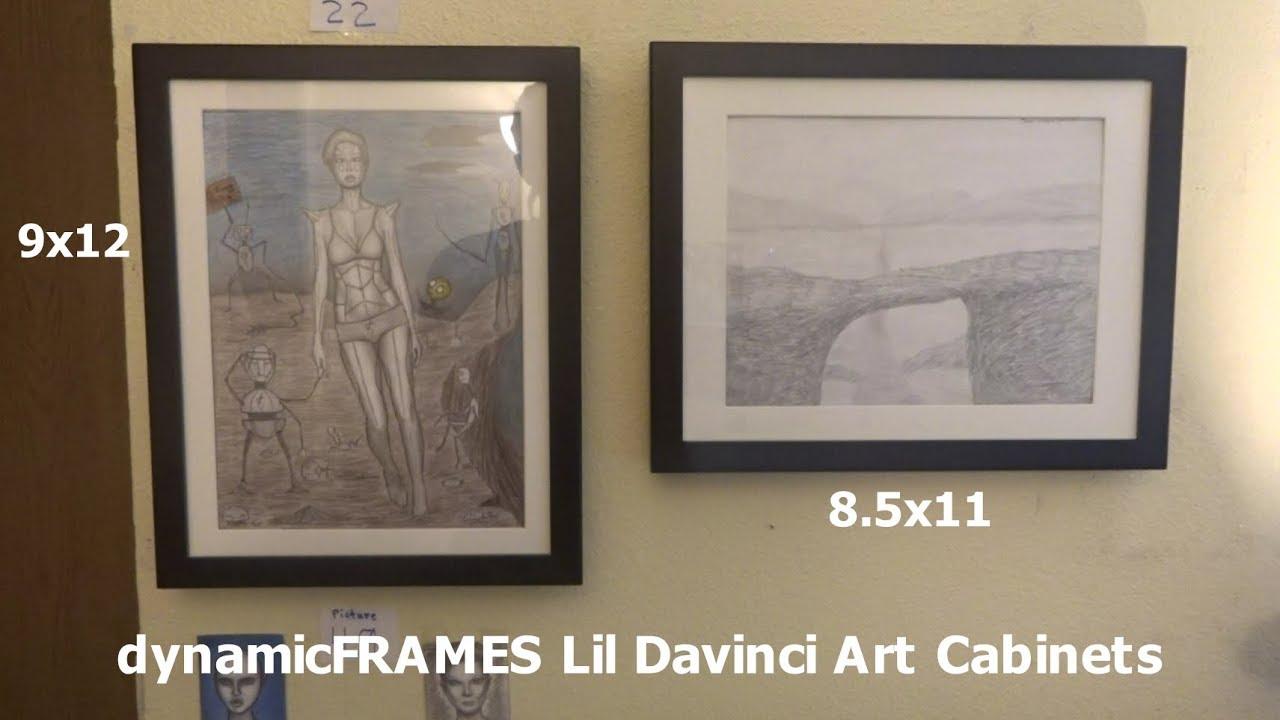 Dynamic Frames Lil Davinci Art Cabinets Review