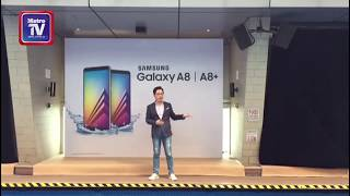 Samsung Galaxy A8 dan A8+ lancar hari ini....