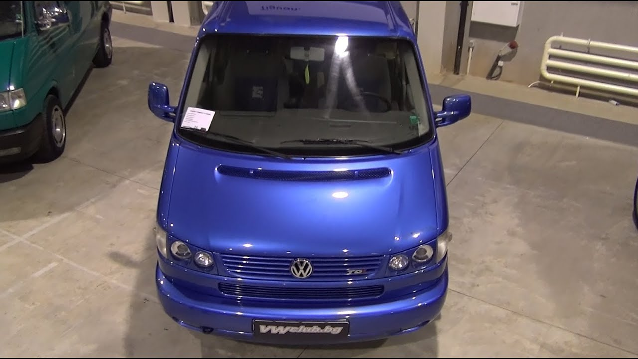Volkswagen Transporter T4 Atlantis 2001 Exterior And Interior In 3d 4k Uhd Youtube