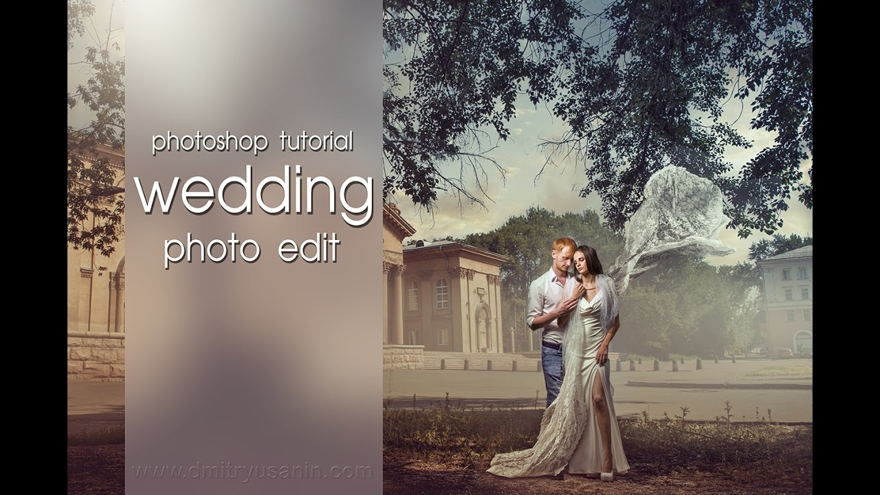 Photoshop tutorial quotrenaissance wedding photo edit for Photoshop wedding photos