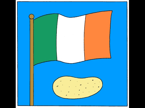 History of the Irish Potato Famine in 1 minute