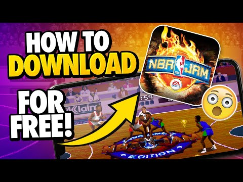 NBA JAM Download - How To Download NBA JAM For Free - Android & IOS