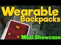 Minecraft Java - BACKPACKS - Wearable Backpacks || Mod Showcase