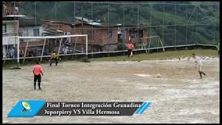 Cuarta versión del Torneo de Integración Granadina dejó a Villa Hermosa como campeón