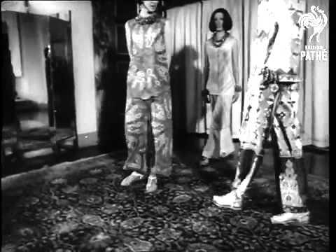 Emilio Pucci dresses The Fashion Designer 1964