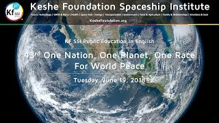 43rd One Nation One Planet One Race for World Peace - Tuesday, June 19, 2018, 4 PM CEST thumbnail