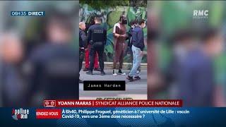 NBA: James Harden contrôlé par la police à Paris, son ami Lil Baby interpellé
