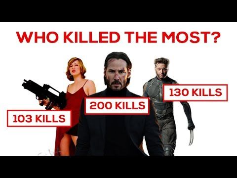 Who killed the Most? (in movies)
