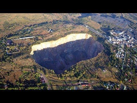 Exploring the Cullinan Diamond Mine, Pretoria - South Africa✔