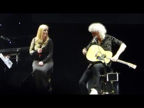 Who Wants To Live Forever - Brian May & Kerry Ellis, Prague 8.3