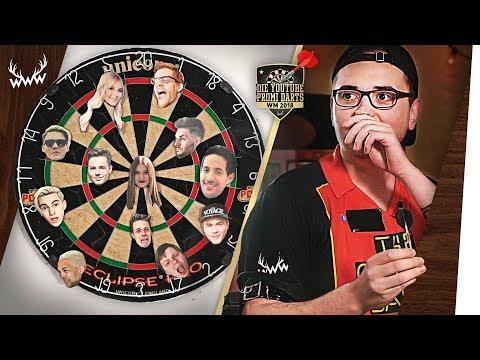 Die YouTube-Promi-Darts WM 2018! (mit MarcelScorpion)