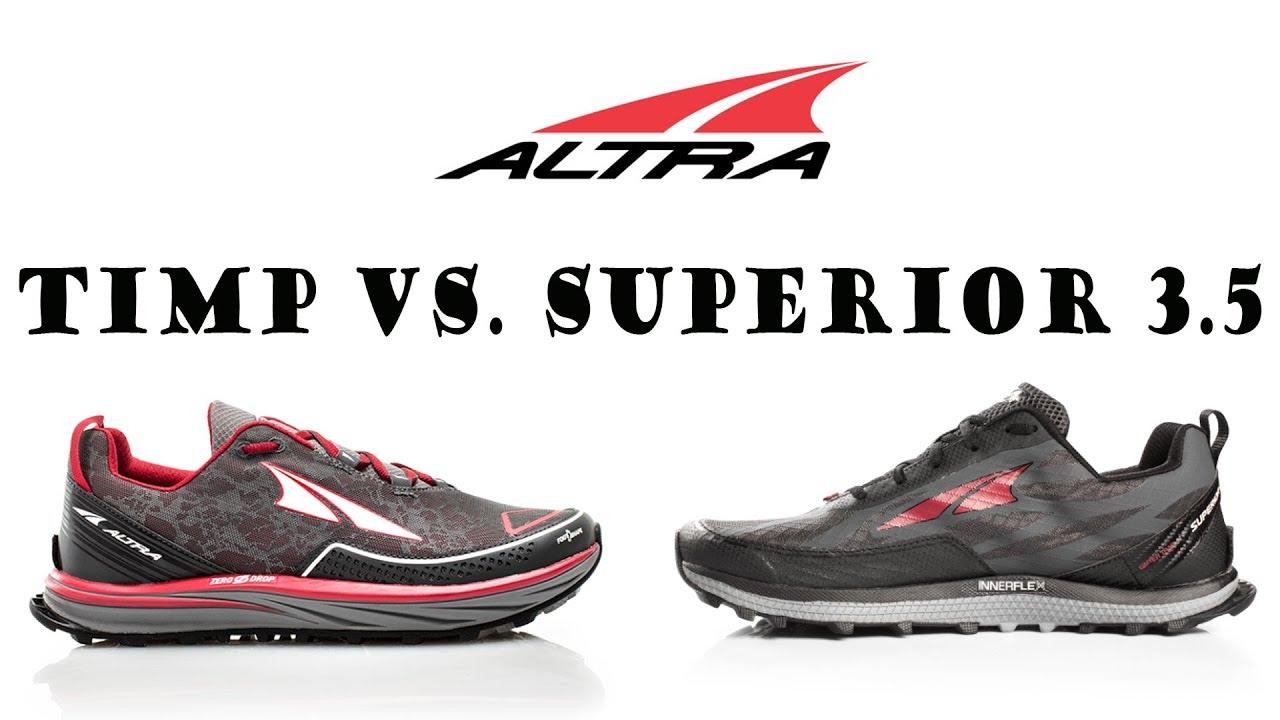 3 Shoe Trail ReviewAltra Superior Youtube Vs 5 Timp RLq4A3j5