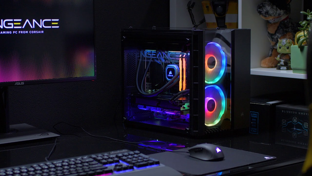Corsair Vengeance Gaming Pc Step Up Your Game Youtube