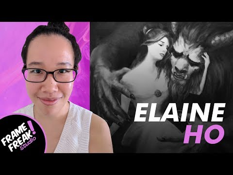 INTERVIEW W/ ELAINE HO: Concept Art & Illustration - The Creative Hustlers Show #37