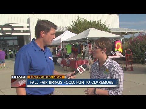 Fall Fair Brings Food An Fun To Claremore