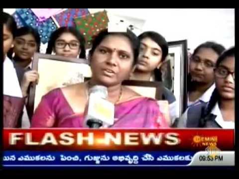 Chinmaya Vidyalaya on Gemini News 24 10 2016