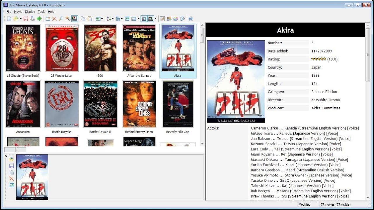 tech tutorials 06 ant movie catalog youtube