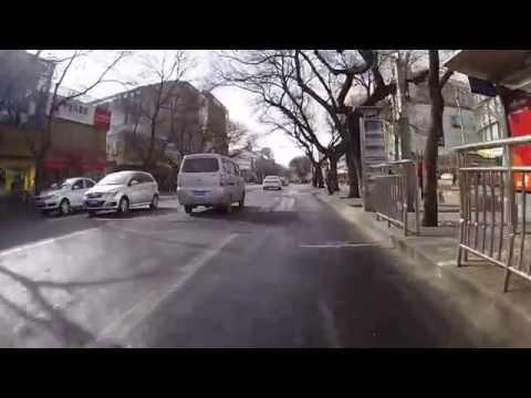 Biking to Tiananmen Square