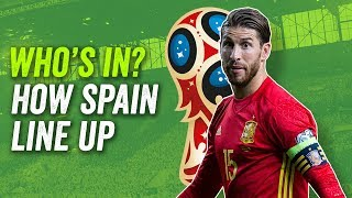 Ramos, Asensio, Isco, Morata. How Spain will line up at the 2018 World Cup in Russia