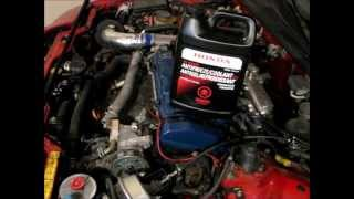 How to Replace a Honda Prelude Timing Belt - 11 of 12 - Rebuild & Radiator Refill